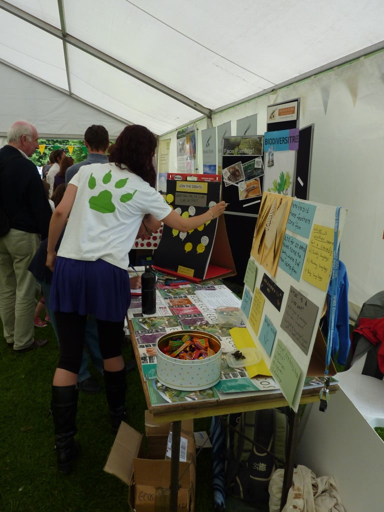 BANC stall at Cambridge Biodiversity Fair 2010