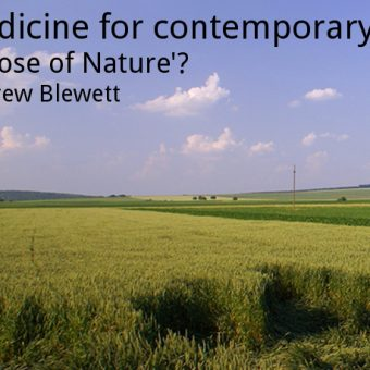 ECOS 39(6): Medicine for contemporary ills: a 'Dose of Nature'?
